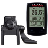 CatEye Padrone Smart+ Wireless Cycling Computer - Includes Bluetooth Speed/Cadence Sensor