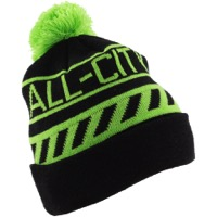 All-City Sleddin' Cap - Black/Lime Green