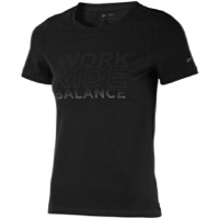 DT Swiss Work-Ride-Balance Women's T-Shirt - Black