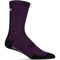 Giro HRc Team Socks 2020 - Dusty Purple/Black