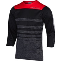 Troy Lee Designs Ruckus Jersey 2019 - Streamline Heather Black/Black