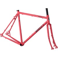 Surly Straggler 700c Frameset - Salmon Candy Red