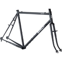Surly Pack Rat Frameset - Gray Haze