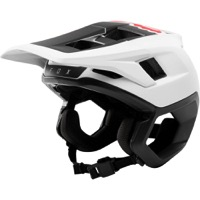 Fox Racing Dropframe Helmet 2019 - White/Black