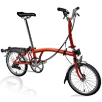 Brompton M6R Complete Bikes - Flame Lacquer