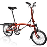 Brompton H6R Complete Bike - Flame Lacquer