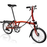 Brompton S6R Complete Bike - Flame Lacquer