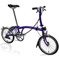 Brompton S6L Complete Bike - Purple Metallic