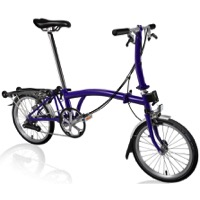 Brompton S6R Complete Bike - Purple Metallic