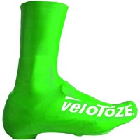 VeloToze Road Tall Shoe Covers - Viz-Green