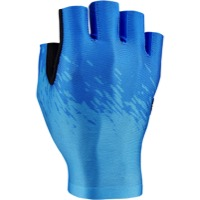 Supacaz SupaG Short Finger Gloves - Neon Blue/Ice Blue