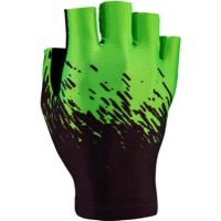 Supacaz SupaG Short Finger Gloves - Black/Neon Green