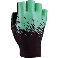 Supacaz SupaG Short Finger Gloves - Black/Celeste