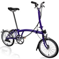 Brompton H6L Complete Bike - Purple Metallic