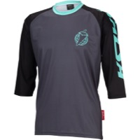 Salsa Devour 3/4 Sleeve Jersey - Black Mint