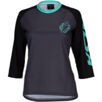 Salsa Devour MTB Women's Jersey - Black Mint