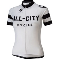 All-City Classic Women's Jersey - White/Black