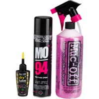 Muc-Off Bike Wash, Protect and Lube Kit