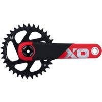 SRAM X01 DH DM DUB Carbon Crankset - 12 Speed