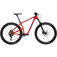 Salsa Woodsmoke Carbon SLX 27.5+ Complete Bike - Orange-Red/Gold