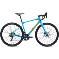 Giant Revolt Advanced 2 700c Complete Bike 2020 - Blue Atoll