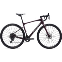 Giant Revolt Advanced 1 700c Complete Bike 2020 - Wine Purple