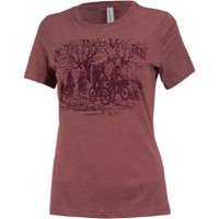 Surly How We Roll Women's T-Shirt - Heather Mauve