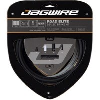 Jagwire Road Elite Sealed Brake Cable Kit - Ultra-slick Polished Inner Cables