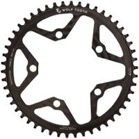 Wolf Tooth Components Drop-Stop Flat Top Chainring - 5 x 110mm BCD
