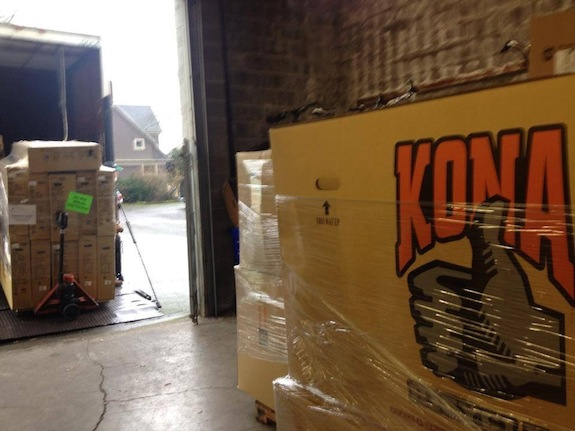Kona Boxes in the Warehouse